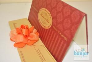Undangan Pernikahan Ekslusif Ornament Clasic UB-EHOC007
