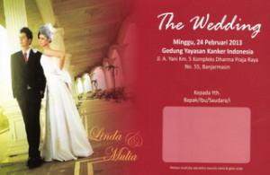 Desain Undangan Pernikahan Mawar Merah UO-SC003