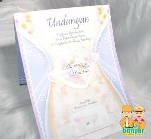 Undangan Pernikahan Murah UB-F29