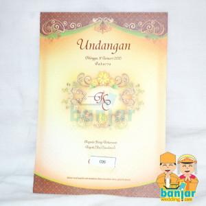 Undangan Pernikahan Murah UB-C05