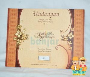 Undangan Pernikahan Murah UB-C17