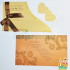 Undangan Pernikahan Elegan Double Flower EDF-007