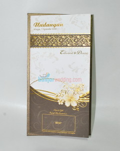 Undangan Semi Hard Cover Elegan EB-88137
