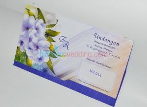 Undangan Pernikahan Bunga UB-MZ14