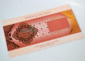 Undangan Perkawinan Islami Elegan L145