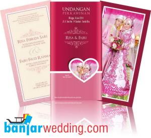 Undangan Pernikahan Pink Elegan UC-PE