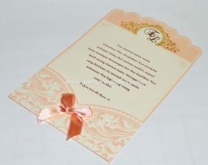Undangan Pernikahan Pita Cantik EL07P