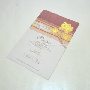 Undangan Perkawinan Hemat F34