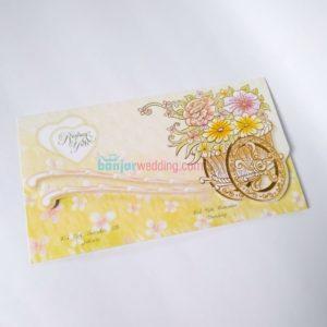 Undangan Pernikahan Bunga EB88103