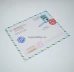 Undangan Perkawinan Post Card JV JS20
